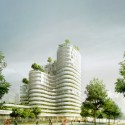 Housing Units in Nantes Winning Proposal / Hamonic + Masson Courtesy of Hamonic + Masson