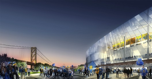 Update golden state warriors stadium sn hetta aecom for Oracle cc b architecture