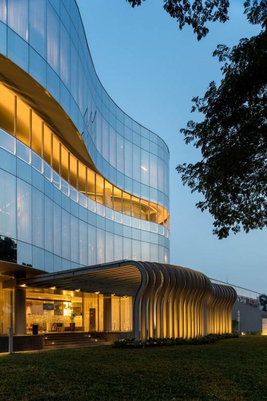 Eau building hmp architects arquitectura - Eau arquitectura ...