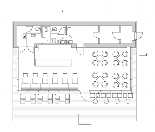 Coffee shop layouts best layout room for Shop floor plans