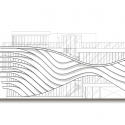 Fuyi River Housing Sales Center / Lab Modus Elevation