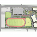 Augustus F. Hawkins High School / CSDA Design Group Site Plan