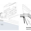 Michael Baker Boathouse / Associated Architects Exploded Axon