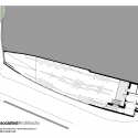 Michael Baker Boathouse / Associated Architects Lower Floor Plan