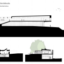 Michael Baker Boathouse / Associated Architects Sections
