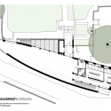 Michael Baker Boathouse / Associated Architects Upper Floor Plan