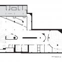 Red Bull Music Academy New York / INABA First Floor Plan