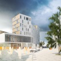Square de l'Accueil Winning Proposal / ARJM © QUICKIT