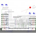 Square de l'Accueil Winning Proposal / ARJM section diagram
