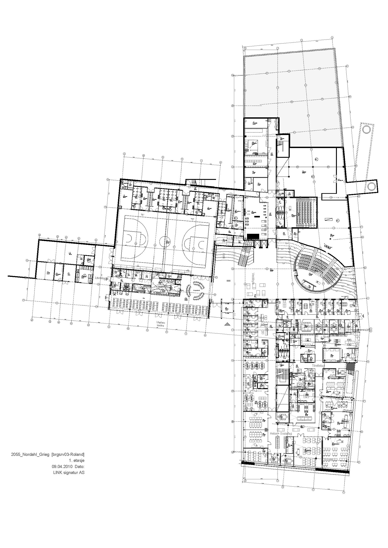 Arkitektur nordahl grieg high school / link arkitektur – archdaily