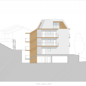 GI Multi-family Housing / Burnazzi Feltrin Architects Elevation