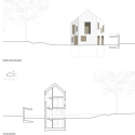 Two in One House / Clavienrossier Architectes Elevation + Section