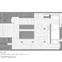 New York Library / TEN Arquitectos Central Floor