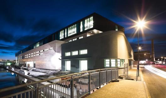Arkitektur arkitektur school : VÃ¥gen High School and Sandnes Culture Academy / LINK Arkitektur AS ...