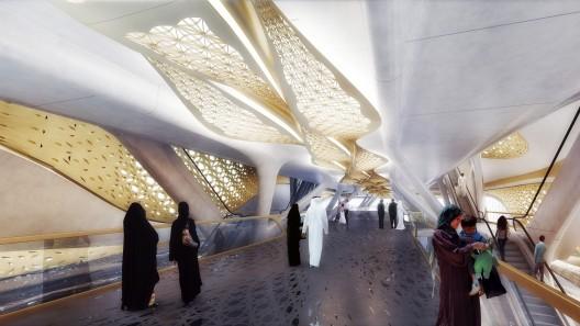 معماری متر عربستان،زاها حدید