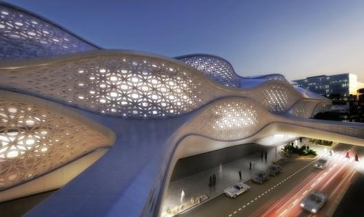 زاها حدید،معماری مترو