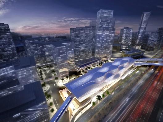 معماری مترو،معماری مترو عربستان،مترو زاها حدید