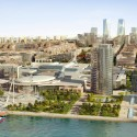 Baku White City Office Building Proposal / ADEC – Azerbaijan Development Company Courtesy of ADEC - Azerbaijan Development Company