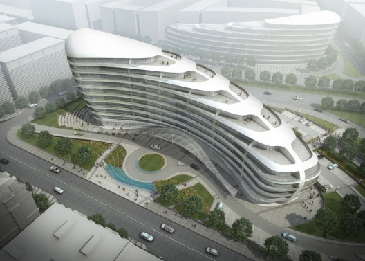 Baku White City Office Building Proposal / ADEC  Azerbaijan Development Company