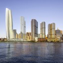 Wilkinson Eyre Wins Crown Sydney Hotel Resort Competition Courtesy of Crown Sydney