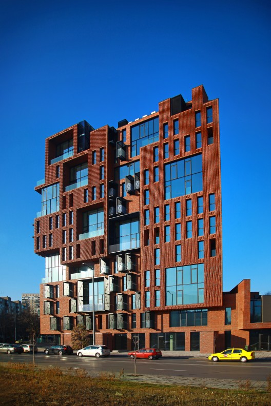 Red Apple Apartment Building Aedes Studio ArchDaily