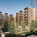 Foster + Partners Reveals Residential Community Project for London High-Rise Residential Community  Foster + Partners
