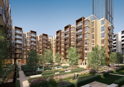Foster + Partners Reveals Residential Community Project for London