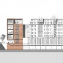 Gebr. Heinemann Headquarters Extension Winning Proposal / gmp Architekten elevation 03