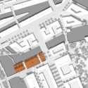 Gebr. Heinemann Headquarters Extension Winning Proposal / gmp Architekten site plan