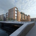 Gebr. Heinemann Headquarters Extension Winning Proposal / gmp Architekten Courtesy of gmp Architekten