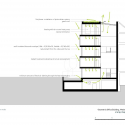 Vibrant Geometry / 3h architecture Ltd Diagram