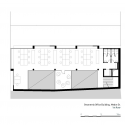 Vibrant Geometry / 3h architecture Ltd First Floor Plan