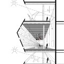 Cultural Center in Guadalajara Competition Entry / PM²G Architects detailed section
