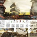 Cultural Center in Guadalajara Competition Entry / PM²G Architects competition panel
