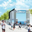 Updated Plans Released for Chicago's Navy Pier South Dock; Courtesy of nARCHITECTS