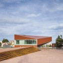 Media Library of Montauban / Colboc Franzen & Associés © Paul Raftery