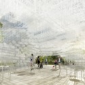 A First Look at Sou Fujimoto's Serpentine Gallery Pavilion Serpentine Gallery Pavilion 2013 Designed by Sou Fujimoto, Interior Indicative CGI © Studio Cyrille Thomas for Sou Fujimoto Architects