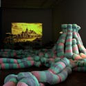 'Plushscape' Installation at Interspace Dialogue Exhibition / ALLTHATISSOLID Courtesy of Seoul Museum of Art + ALLTHATISSOLID