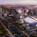 HKS Unveils New $975 Million Minneapolis Stadium / HKS Courtesy of HKS