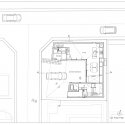 house in Nagahama / comma design office Plan