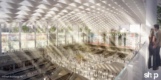 Penn station re imagined four architecture firms propose for New york architecture firms