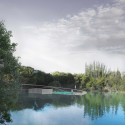 'The Lodge on the Lake' Competition Entry / Stephen Collier Architects Courtesy of Stephen Collier Architects