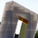 Hotel + Congress Center Proposal / OOIIO model 03