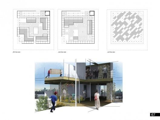 طرح برنده ، مسابقه  micro house 2013