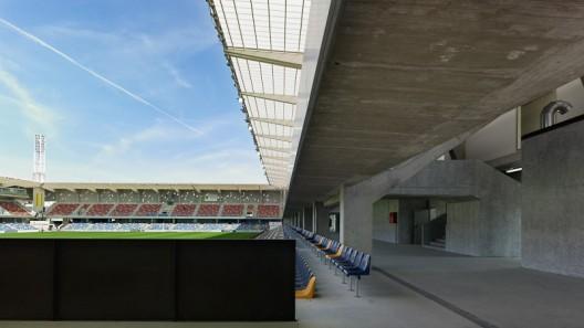 Pasar n stadium acxt arquitectos arquitectura - Hector santos ...