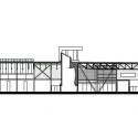 Brampton Soccer Centre MacLennan Jaunkalns Miller Architects Section
