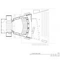 Teatro Auditorio Gota de Plata / Migdal Arquitectos Balcony Level Plan