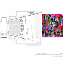 Teatro Auditorio Gota de Plata / Migdal Arquitectos Access Level Plan