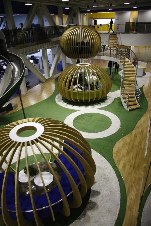 طراحی دفتر کار شرکت 360HQ
