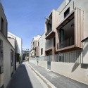 Tetris, social housing and artist studios / Moussafir Architectes © Luc Boegly